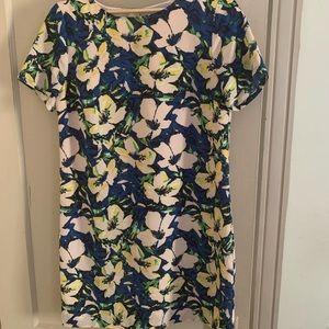 J Crew Floral Mini Dress